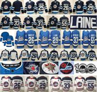 2021 Winnipeg Jets Hockey 29 Patrik Laine 25 Paul Stastny 26 Blake Wheeler 33 Dustin 37 Connor Hellebuyck 55 Mark Scheifele Jersey