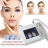المحمولة HIFU آلة 10000 لقطات عالية كثافة تركز الموجات فوق الصوتية الوجه رفع الجسم الجلد رفع معدات التجاعيد إزالة الجمال