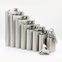 1 oz 3 oz 4 oz 5 oz 6 oz 7 oz 8 oz Paslanmaz Çelik Hip Flask Viski Stoup Açık Taşınabilir Likör Şarap Pot