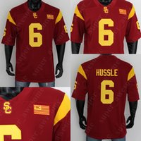 6 Nipsey Hussle USC Trojans Jersey Jersey Red Coinded