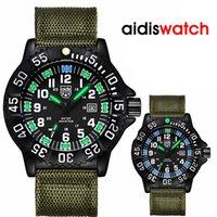 Montres Hommes Sport Top Marque Addies bracelet en nylon Sport Quartz Homme Date de Waterproof Horloge Relogio Masculino