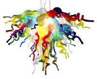 Lampade a sospensione Lampadari moderni Lampadari colorati Lampada a Pendente a LED Pendente a LED Blown Blown CE / UL Murano Glass Chandelier per la casa Decor