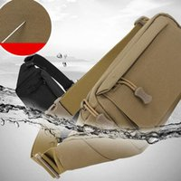 Outdoor Fashion Tactical Camouflage Waterproof Breathable Small Waist Bag For Unisex Climbing Mobile Phone Bags Accessories