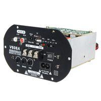 Freeshipping Kroak High Power Bass 80W Auto Subwoofer Amplificatore Hi-Fi Amplificatore TF USB 12V / 110V-220V Mini Scheda Amplificatore