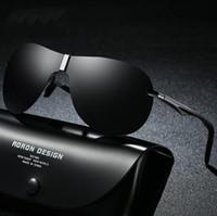 Nuevas gafas de sol populares Hombres de lujo de diseño cuadrado Estilo de verano Gafas de sol con montura completa Protección UV Gafas de sol