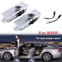 Araba LED Kapı Logo Projektör Işık BMW Serisi 3D Hoşgeldiniz Amblem Yeni