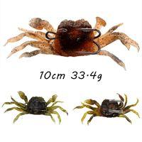 5pcs / lot siri Iscas iscas de 3 cores 10 centímetros Mixed 33,4 g Duplo Fishing Hooks Pesca Pesqueiro KL_62