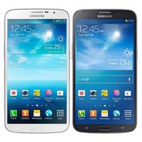 Оригинальный отремонтированный Samsung Galaxy Mega 6.3 I9200 6,3 дюйма Двойное ядро 1.5 ГБ ОЗУ 16 ГБ РЗМ 8 МП 3G разблокирован Умный мобильный телефон Бесплатный DHL 30 шт.