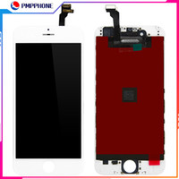 LCD لفون 6G 6S 6P 6SP 3D شاشة تعمل باللمس LCD عرض محول الأرقام الجمعية دي إتش إل الحرة الشحن