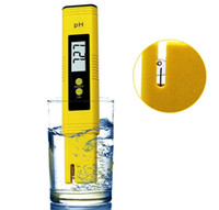 Yeni Protable LCD Dijital PH Metre Cihazı Akvaryum Havuz Suyu Su Şarap İdrar Kalem ph-2 ph-02 SN2993
