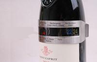 Bira Homebrewing Bar Aracı için şarap mahzeni Paslanmaz Çelik Ev Şarap Bilezik Termometre Kırmızı Şarap Sıcaklık Sensörü (4--24'C)