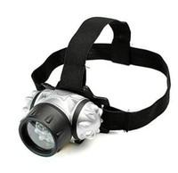 mini-portátil 12 LED faróis exteriores lanternas de acampamento cabeça caminhadas pesca lanterna tocha 4 modo de luzes de bateria bicicleta ajustável