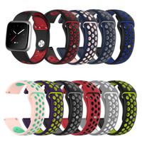 DHL nouvelle arrivée remplacement bracelet en silicone souple bracelet de montre intelligente pour Fitbit Versa Lite / Versa bande de montre universelle
