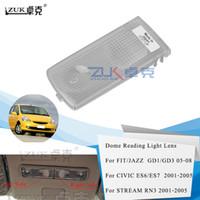 Zuk New Car Styling Reading Light Lens Housing Cover Shell For HONDA For CIVIC 2001-2004 FIT JAZZ 2003-2008 STREAM 2001-2005