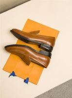 Mens high-end scarpe di cuoio di affari, 2019 tessuto in pelle di vitello importato, Dentro pelle di pecora imbottitura per le dimensioni mens abito business casual 38-45