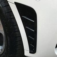 자동차 스타일링 휠 눈썹 장식 스티커 상어 칙 통풍구 전면 범퍼 섭취 개그 트림 메르세데스 벤츠 GLC (260) 300 2020
