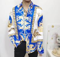Marka Yeni Erkek Medusa Gömlek 2020 Uzun Kollu Slim Fit Elbise Gömlek Iş Rahat Erkekler Gömlek