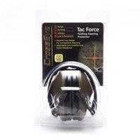 protetor auricular Tactical Shooting Earmuff ajustável Noise dobrável Anti Snore Earplugs macio acolchoado Headset Cancelamento de Ruído