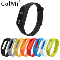Colorful Silicone Wrist Strap Bracelet Double Color Replacem...