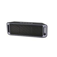SC208 беспроводные динамики Bluetooth мини-динамик портативный Музыка Бас звук сабвуфер колонки для Iphone смартфон и планшетный ПК