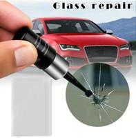 Авто стекло царапины трещины восстановить Инструмент Ремонт лобового стекла автомобиля смолы комплект DIY ремонт окна автомобиля инструменты оконное стекло отверждения клея