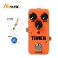 Kokko FDD2 Timer Portable Mini Delay Guitar Effect Pedal With Straight Connector