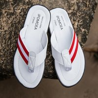 The Hottest Designer Men Trend Flip- flops 2019 Summer New Fa...
