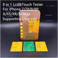 2019 Yeni LCD Dokunmatik Ekran Çok fonksiyonlu Akıllı Test Makinesi Lcd Test Araçları iPhone 7 7G 8G 8 Artı X XS XR XS Max Evrensel