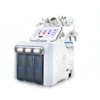 حار بيع هيدرا الأكسجين تنشيط فقاعة صغيرة 6 في 1 آلة RF البرد بالموجات فوق الصوتية مطرقة جيت