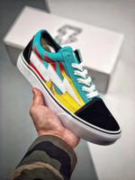 d4fa456408 Nouvelle vengeance x Storm Pop Old Skool Designer Cavnas Sneakers Femmes  Hommes Low Cut Skateboard Rouge
