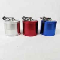 amoladoras de lujo de 4 capas 63x79mm estilo dinamo pipa de humo de tabaco detector de humo de cigarrillo rectificado de humo máquina de cigarrillos amoladora sharpstone