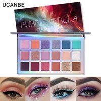 New UCANBE changeable Bubble 18 couleurs EYESHADOW palette nue yeux Maquillage multi-reflets Superbe Shimmer Powder Glitter Eye Shadow