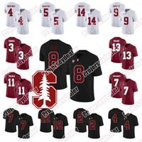 Stanford 14 Jake Bailey 12 Andrew Luck 8 Justin Reid 17 Brennan Scarlett 13 Alijah Tutucu 32 Joey Alfieri NCAA Futbol Jersey
