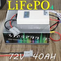 72 V 40AH 된 LiFePO4 Bateria DA motocicleta 스쿠터 드 Bicicleta Elétrica 4000 W BMS