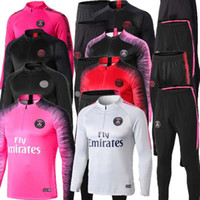 2019 PSG soccer training suit long sleeve MBAPPE CAVANI Jers...