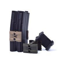 PMAG 30 및 40 라운드 AR / M4 용 사냥 용 액세서리 렌치와 전술 소총 잡지 병렬 커넥터