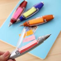 Multi-Funktions-Lanyard Briefpapier Shinkansen 1.0mm Kugelschreiber LED-Lampe Kugelschreiber Schreibbedarf Büro Schule HA426