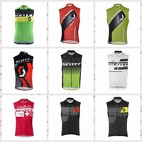 Equipo SCOTT Ciclismo Jersey sin mangas Chaleco 2019 nuevo Ropa Ciclismo Bicicleta ropa bicicleta MTB maillot ciclismo 012325F