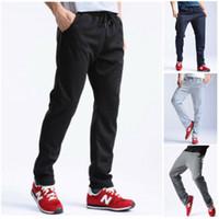 Мужские брюки Au Mens Slim Fit Cousssuit Нижние днищие днищие пробежки Joggers пот брюки