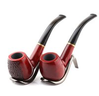 Vente directe d'usine de porte-cigarette 9MM en bois de santal rouge artisanal avec poignée de tabac faite main accessoires pour fumeurs de Jiapin en gros