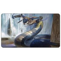 Magic Board Game Playmat: Tah-Crop Skirmisher MtG Art 60 * 35cm Size Table Mat Mousepad العب Matwitch fantasy غامض أنثى wizard2