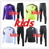 2019 2020 chandal liverpool Manchester United Manchester City tottenham Chelsea Arsenal niños Chándal de fútbol 19 20 kids chandal de futbol soccer training football tracksuit kit