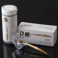 المهنية التيتانيوم ZGTS ديرما الرول 192 الإبر على العناية بالوجه الشعر تساقط شهادة CE ثبت مايكرو إبر