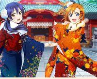 Riko Sakurauchi Cosplay Peruk Aşk Canlı! Gunes isigi! Kostüm Oyun Peruk 35cm Cadılar Bayramı Kostümleri Saç