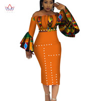 e6b981195db 2019 Summer Dashiki Party Hot Vestidos For Women Cotton Print Traditional African  Clothing 5xl Nature Dress Mid-calf Wy3208 J190511