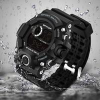 2018 relógio de pulso eletrônico Militar Sport Top Marca Sanda pulso digitais Homens G Estilo shock waterproof o relógio à prova de choque