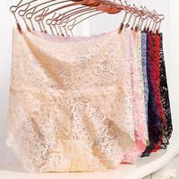 높은 허리 여성의 레이스 속옷 팬티 여성 섹시한 원활한 통기성 편안한 팬티 속옷 Calcinha 비영리 Costura 4.9