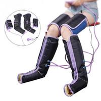 Compressione Aria Massager del piedino di circolazione elettrica Leg Wraps per il corpo del piede Caviglie Vitello T191101