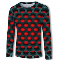 Discount Promotion Fashion Men' s Shirt Red Cell Sphere ...