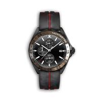 Erkek Spor Saatler 2020 lüks tasarımcı Relojes f1 Superluminova montre de luxe VK kuvars saatler kronograf kauçuk bilezik kayış